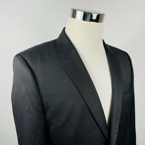 Hugo Boss Mens 40S Aeron2 Hamen2 Sport Coat Black